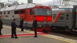 «Катюша» для Ким Чен Ына: лидер КНДР прибыл в Россию (видео)