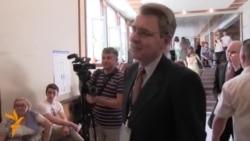 U.S. Ambassador Tours Kyiv Polling Stations