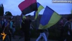 Сумські студенти влаштували спонтанну акцію «За єдність України»