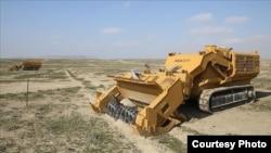 Turkish-built MEMATT mine sweepers operating in Azerbaijan