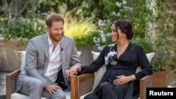 Хари и Меган съобщиха, че второто им дете ще е момиче по време на интервюто с Опра Уинфри.