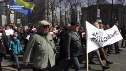 Protesters Demand Savchenko Release