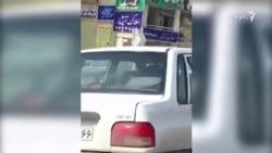 اعتراض به حجاب اجباری - تهران
