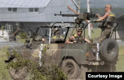ДШК, встановлений на армійському УАЗі