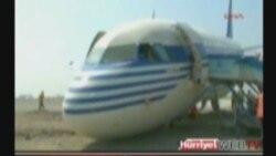 Самолет AZAL выехал за пределы полосы
