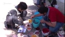 Афганские художники меняют Кабул с помощью стрит-арта