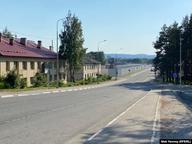 Здание тюремной больницы нынешнего управления ФСИН, территория одного из режимных объектов Белбалтлага, Медвежьегорск