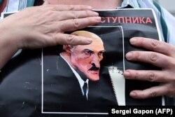 Акция противников Александра Лукашенко