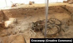 The Karanovo chariot in 2011