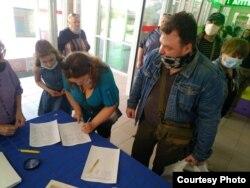 Сбор подписей против строительства вблизи населенных пунктов комплекса по уничтожению опасных отходов.