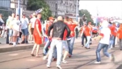 Russian, Polish Football Fans Clash In Warsaw