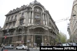Palatul Bursei din București (construit între 1906-1912), actualul sediu al Camerei de Comerț București, inițiatoarea Bursei