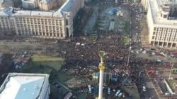 Протест на Майдані: активісти й опозиція окреслили «червоні лінії» для «нормандської зустрічі» – відео