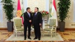 Кыргыз-тажик президенттери жолугушту