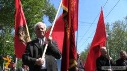 Կոմունիստները երթով նշեցին Մայիսի 1-ը