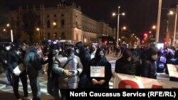 Демонстранты в Вене требуют прекратить депортации чеченцев