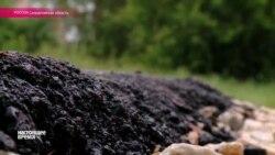 В Березовском на Урале девочка упала в горячий асфальт