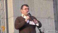 Րաֆֆի Հովհաննիսյանի ելույթը Ազատության հրապարակում