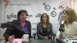 ექიმი და პაციენტი ქალები