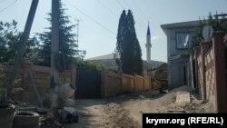 Мінарет мечеті Ускут Джамісі видно здалеку