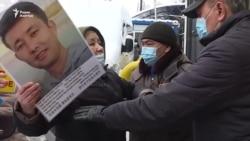 Пикет матери. Старший сын — в тюрьме в Казахстане, младший — в Китае