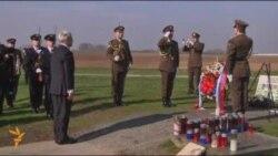 Serbian Leader Visits Croatian War Memorial