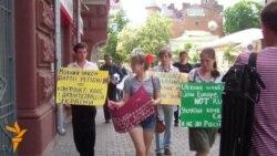 Супротивники мовного законопроекту просять допомоги у західних країн