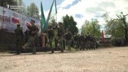 Russia-Led Alliance Opens Spying War Games In Tajikistan