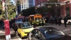 Udar u školski autobus u New Yorku