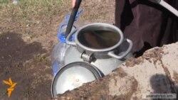 Վարդաքարցիները հեռադիտակով են ստուգում գյուղի աղբյուրում ջրի առկայությունը