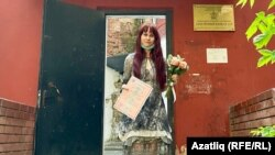 Елена Горбань после бракосочетания 23 июня 2021 года