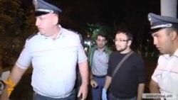 Ոստիկանությունը երեկ երեկոյան բերման ենթարկեց ևս մեկ ակտիվիստի