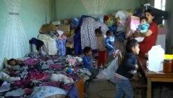 Քաշաթաղցի Ռոմիկ Դարբինյանի ընտանիքը Գետազատից տեղափոխվել է Եղեգնավան, ապրում են կիսաքանդ տանը