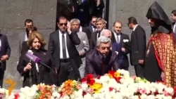Clooney përkujton masakrën e armenëve