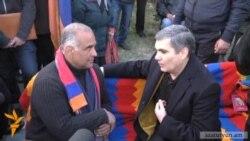 Արամ Սարգսյանը՝ Ազատության հրապարակում