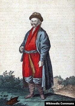 Калмык. Конец XVIII века.
