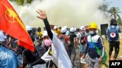 اعتراضهای ضد کودتای نظامی در برما