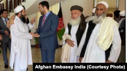 تبلیغیهای افغان در سفارت افغانستان در دهلی جدید