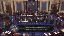 U.S Senate-Sanctions Against Iran and Russia