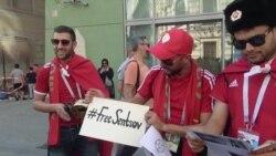 Болельщики за Сенцова