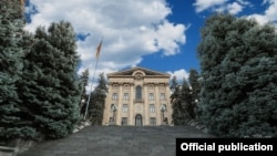 Здание парламента Армении в Ереване