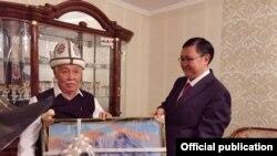 Сардарбек Жумалиев. Оңдо министр Кайрат Иманалиев. 2021-жылдын 11-февралы