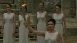Olympic Torch Lit At Games' Greek Birthplace