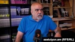 Քաղաքագետ Ալեքսանդր Իսկանդարյանը հարցազրույց է տալիս «Ազատությանը», 14-ը մայիսի, 2021թ.