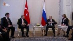 Президенти Росії і Туреччини провели зустріч