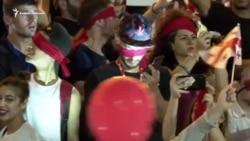 Грузия. Полиция выбила глаз женщине и тысячи вышли на улицы