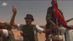 Libyan Rebels Advance On Qaddafi Stronghold