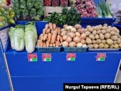 Казахстан. Рост цен на овощи. Нур-Султан, 18 июня 2021 года.