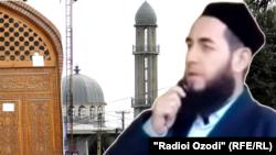 """Дүйшөмү шаары. Абдулхак Обидов, """"Шохмансур"""" мечитинин имам-хатиби."""