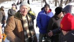 """Красноярск в день памяти Немцова: """"Нельзя митинговать, будем петь!"""""""
